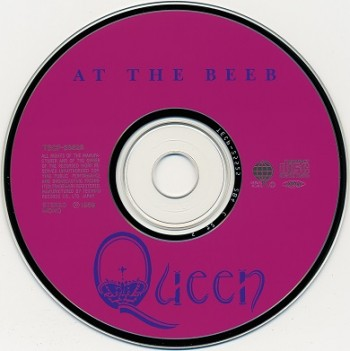 Queen At The Beeb (1989) 1990 CD